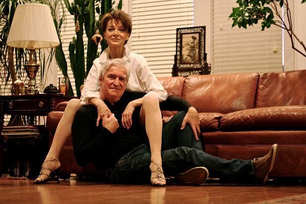 Irena Jarocka i Michał Sobolewski, Lubbock, grudzień 2008 r. (fot. Monika Sobolewska)