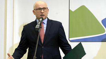 Nowo mianowany dyrektor generalny Lasów Państwowych Andrzej Konieczny.