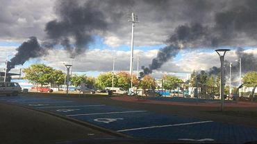 Dymy z Orlenu nad Płockiem. Zdjęcia nadesłane przez czytelników
