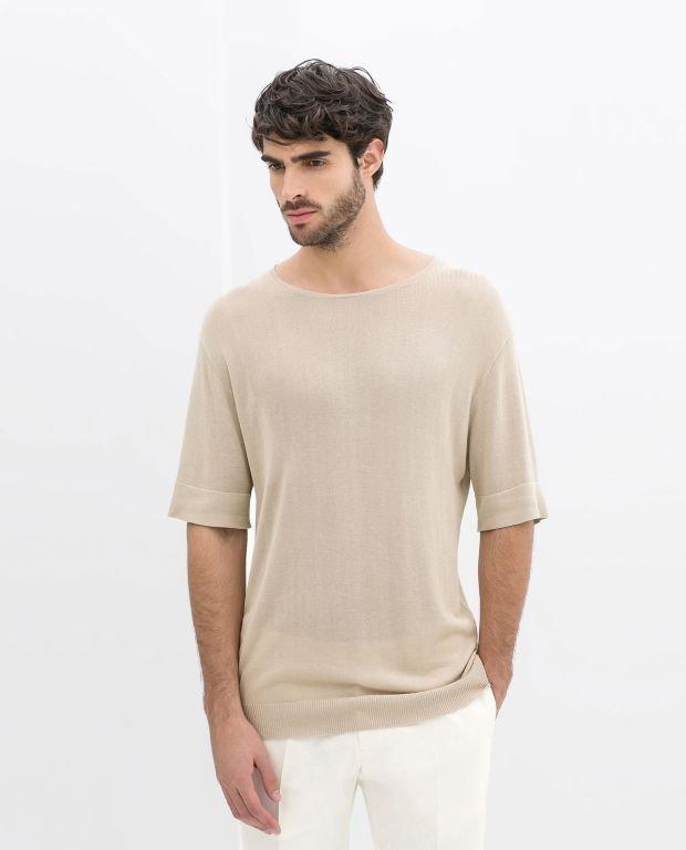 Sweter z kolekcji Zara. Cena: 149 zł, moda męska, swetry, koszulki, zara