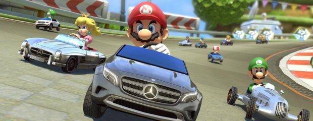 Mercedes w Mario Kart 8