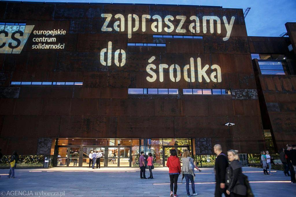 Europejskie Centrum Solidarności w Gdańsku w dniu otwarcia, 30 sierpnia 2014