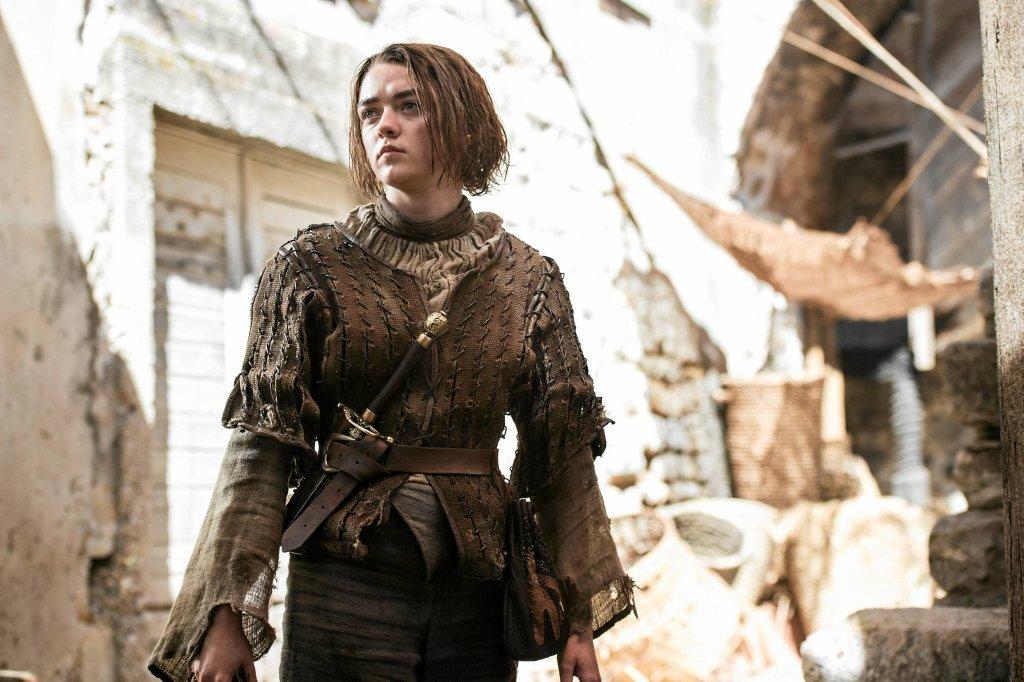 Maisie Williams jako Arya Stark w