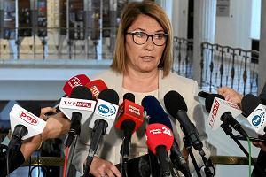 Beata Mazurek: Nie będzie wstrzymania prac nad ustawą o przejmowaniu banków