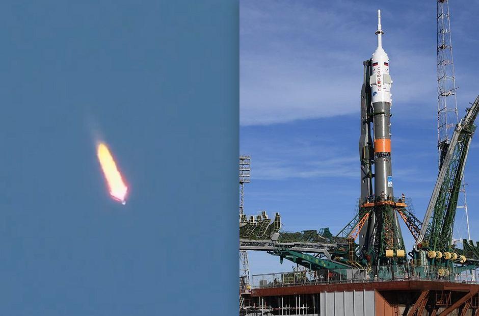Nieudany lot rakiety Sojuz