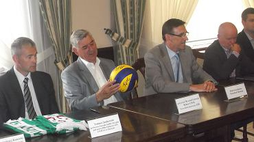 Podpisanie umowy sponsorskiej pomiędzy Librą Project a Indykpolem AZS Olsztyn