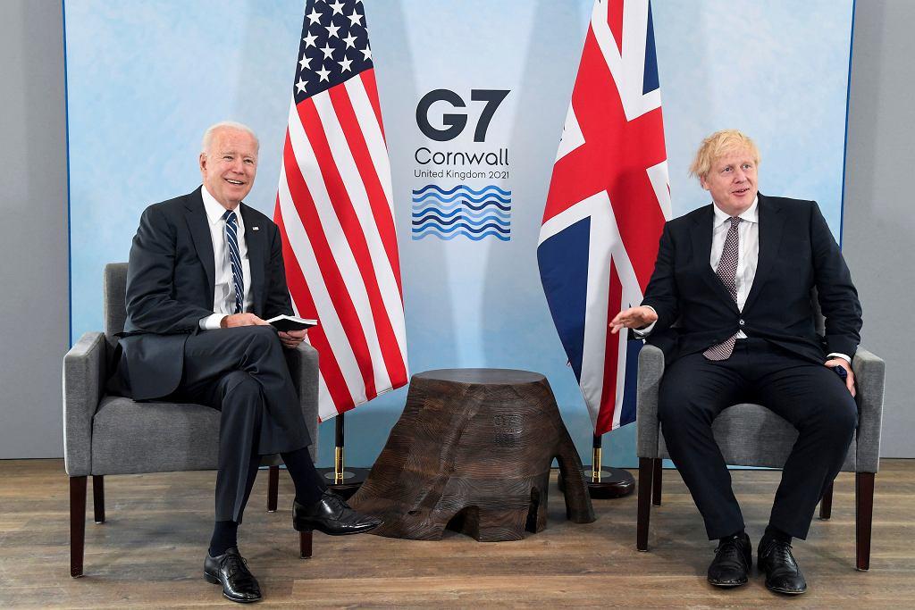 Joe Biden i Boris Johnson