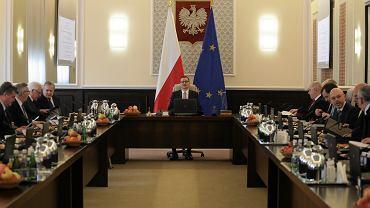 Posiedzenie rządu PiS. Warszawa, 10 grudnia 2019