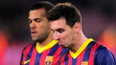 Dani Alves i Lionel Messi