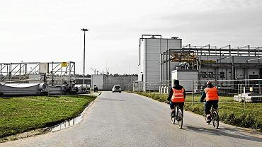 Oczyszczalnia ścieków 'Czajka' w Warszawie