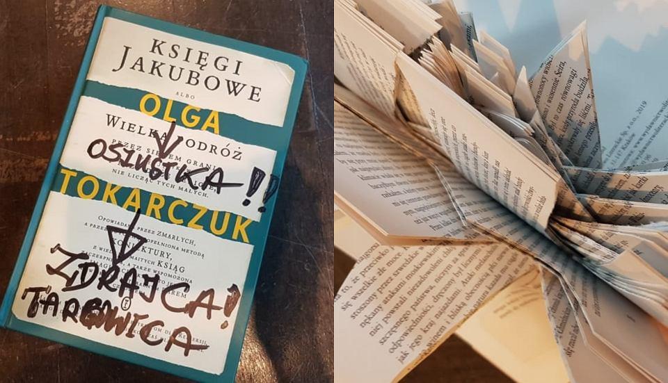 31 zniszczonych książek odesłano noblistce Oldze Tokarczuk