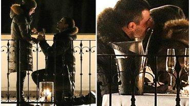 Agnieszka Więdłocha i Antoni Pawlicki zaręczyli się pod koniec marca. Para wybrała się na kolację do restauracji w Krakowie. To właśnie tam aktor ukląkł i poprosił ją o rękę. O tym, jak bardzo Więdłocha była zaskoczona, najlepiej świadczy jej mina. Zobaczcie, jak wyglądały ich zaręczyny.