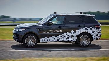 Prototyp autonomicznego Range Rovera Sport