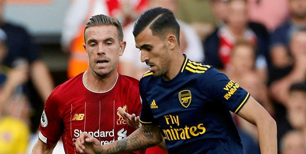 Jordan Henderson (Liverpool) i Dani Ceballos (Arsenal)