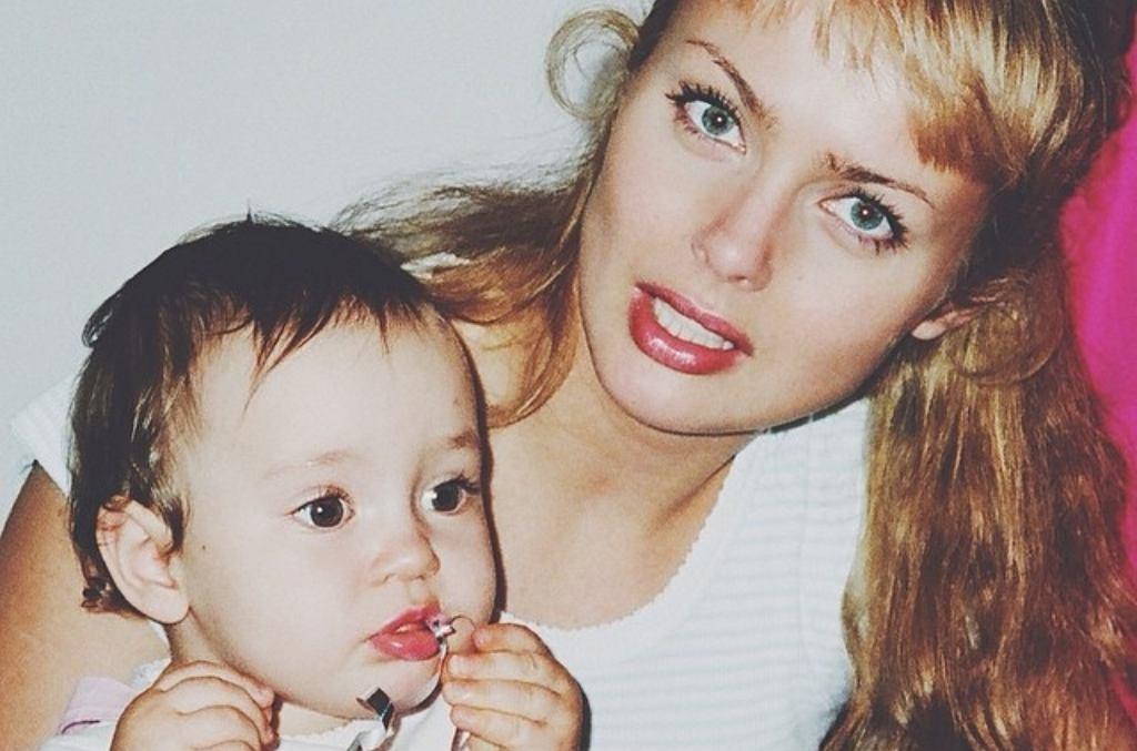 Izabella Scorupco z córką Julią