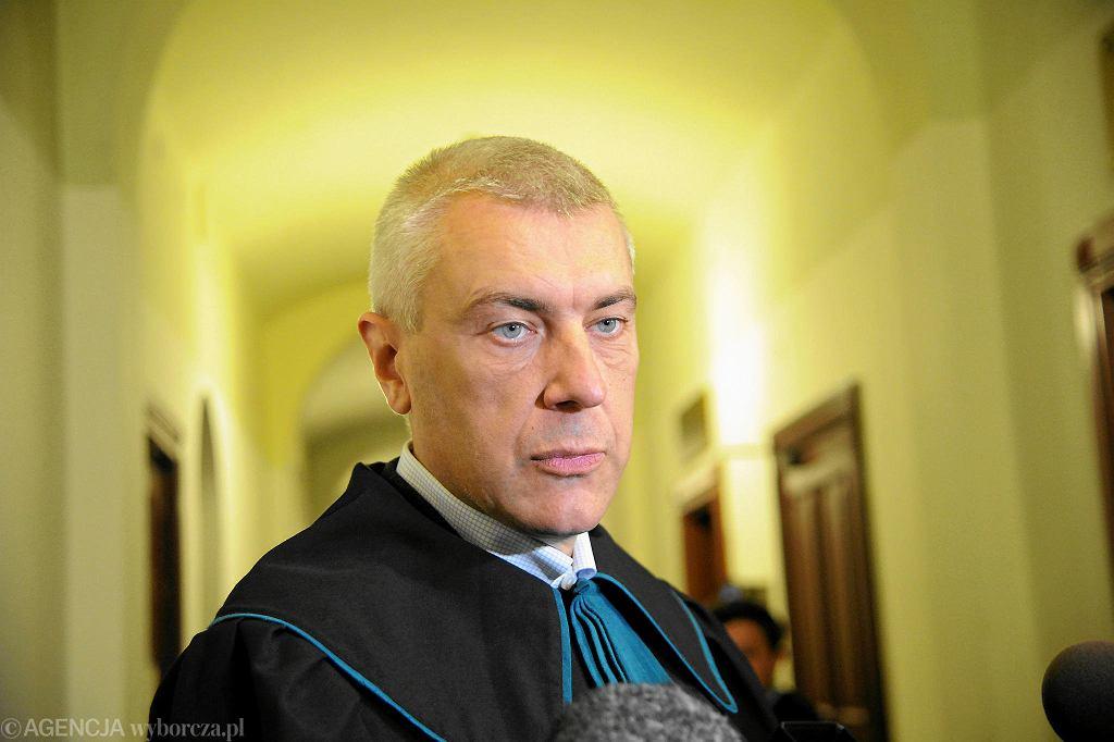 Adwokat Roman Giertych, przedstawiciel Leszka Czarneckiego.