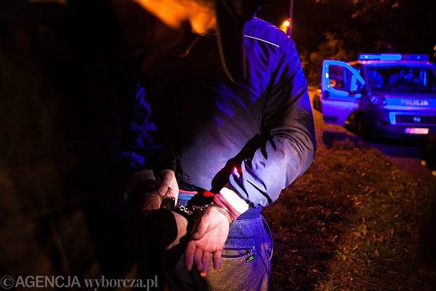 Policyjne zatrzymanie - zdjęcie ilustracyjne