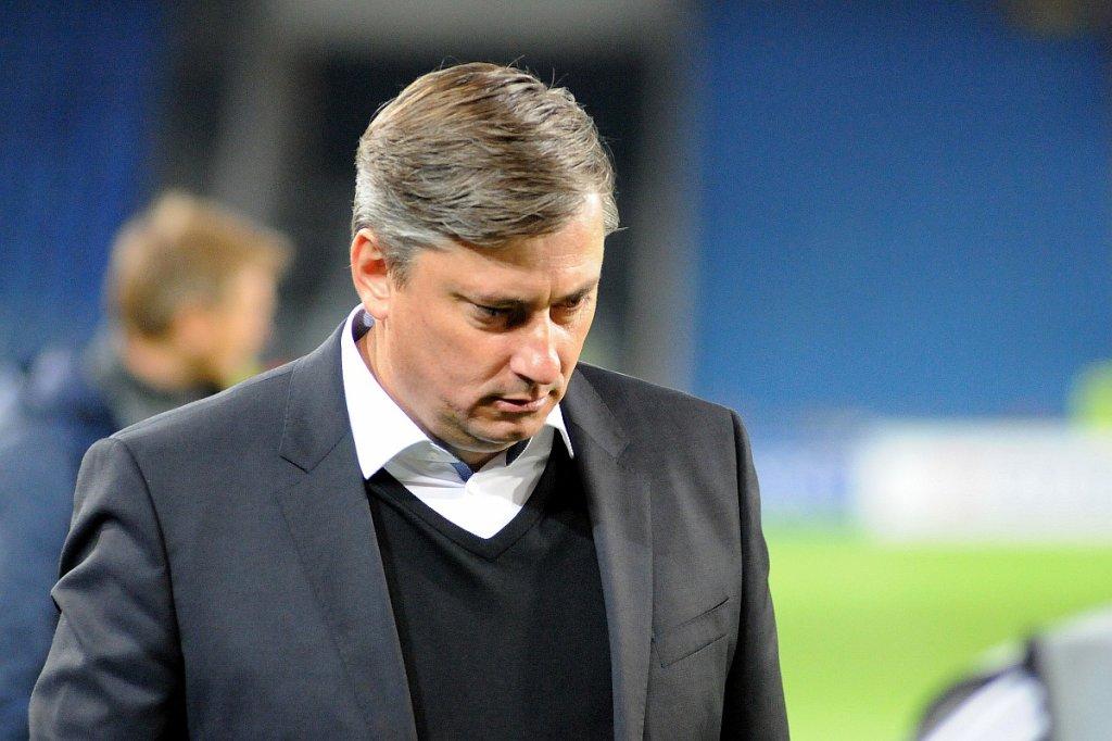 FC Basel - Lech Poznań 2:0. Trener Maciej Skorża