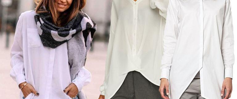 Black Friday. Postaw na klasyki! Biała koszula powinna znaleźć się w każdej szafie. Te modele są eleganckie i piękne
