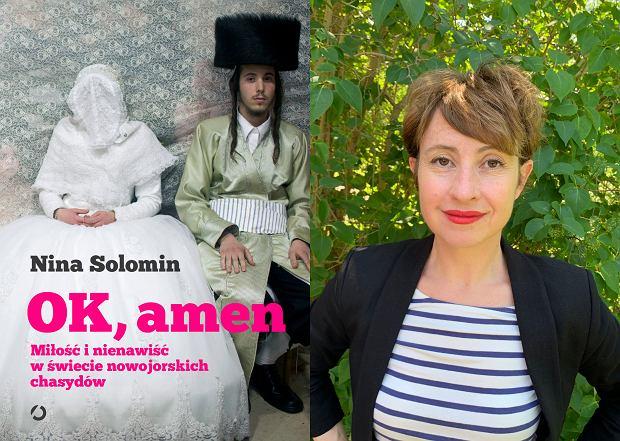 Nina Solomin, autorka książki 'Ok, amen. Miłość i nienawiść w świecie nowojorskich chasydów' (fot. Materiały prasowe)