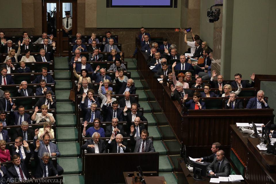 Sejm przyjął ustawę o Sądzie Najwyższym