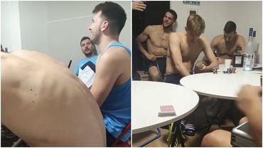 Impreza słoweńskich koszykarzy po wygranej z Argentyną