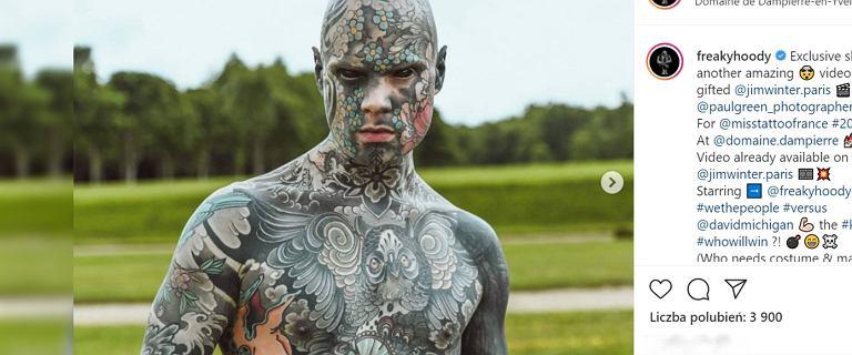 """Nauczyciel z Francji ma niemal całe ciało w tatuażach. """"Dyrekcja nie chce już, żebym przychodził do szkoły"""""""