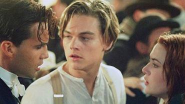 Billy Zane, Kate Winslet i Leonardo DiCaprio w 'Titanicu'