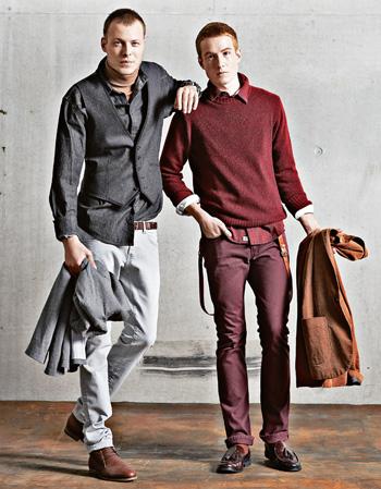 Moda męska - trendy na jesień, moda męska, CIENKI GOLF i BORDO to hity sezonu