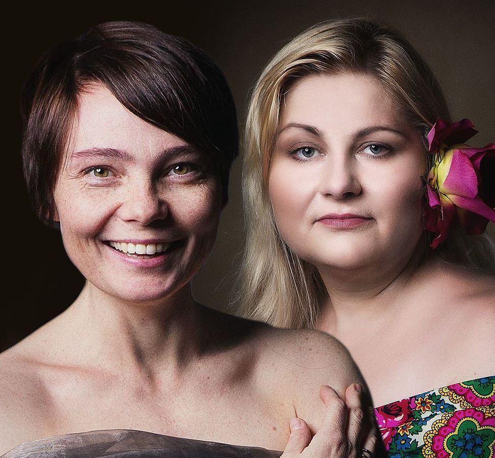 Agata i Beata wzięły udział w projekcie fotograficznym Izy Faber 'Granica'