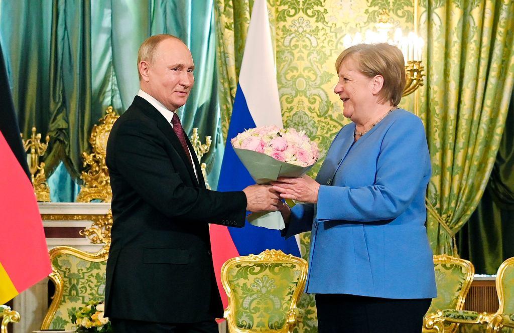 Wizyta Angeli Merkel na Kremlu
