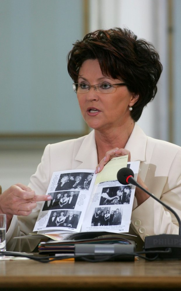 Jolanta Kwaśniewska przed Komisją Śledczą ds. Orlenu
