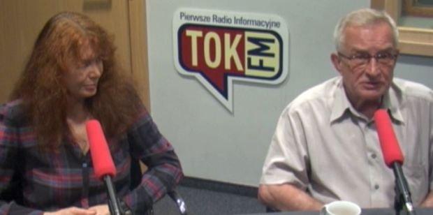 Ewa Siedlecka i Tomasz Wołek
