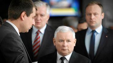 Prezes PiS Jarosław Kaczyński w Katowicach - 11.2014