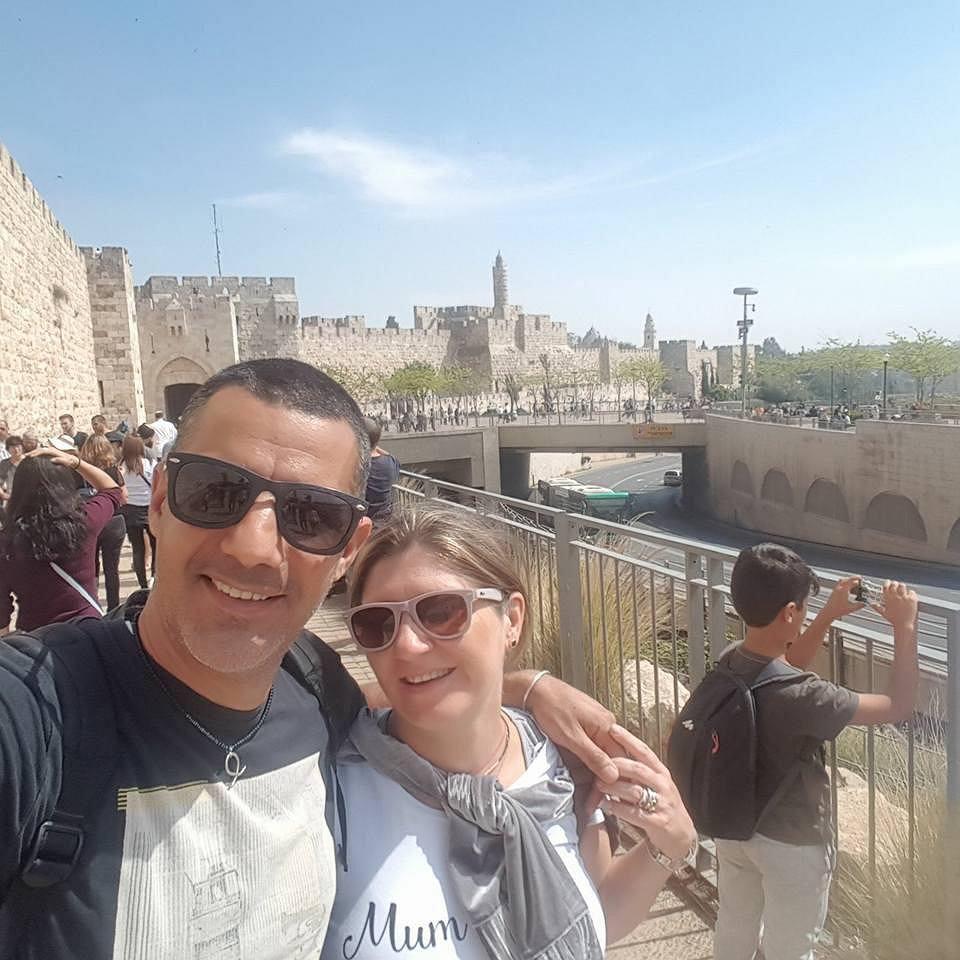 Justyna i Moti, Izrael