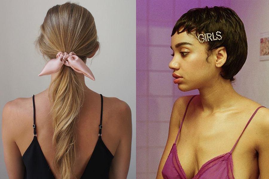 Najmodniejsze dodatki do włosów 2019 roku