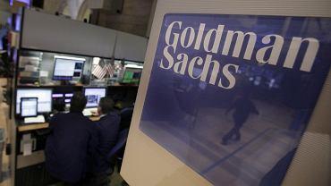 Pracownicy banku Goldman Sachs