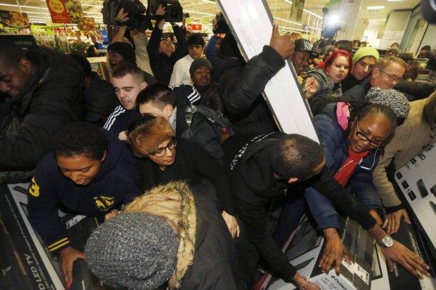 Black Friday - amerykański szał zakupów