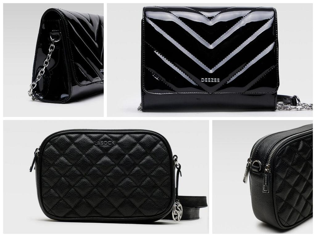 Czarne torebki pikowane z CCC