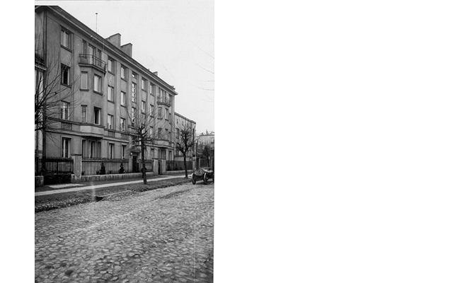 Narbutta 7 - dom wybudowany przez Jana dla Michaliny. Tu mieszkali w latach 30-tych
