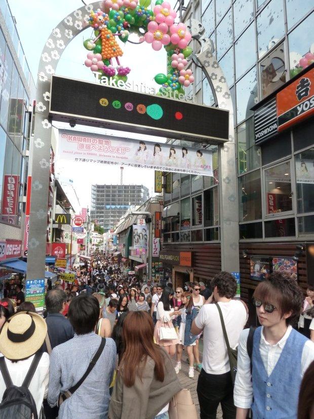 Takeshita Street w Tokio