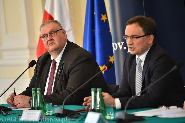 Zbigniew Ziobro, Bogdan Święczkowski