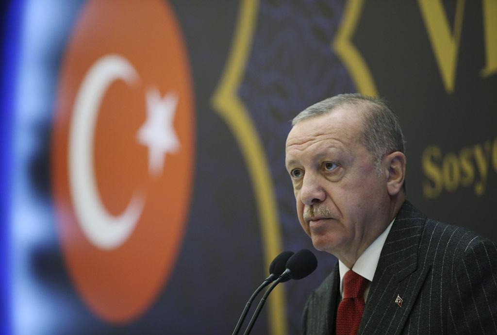 Prezydent Turcji Recep Erdogan.