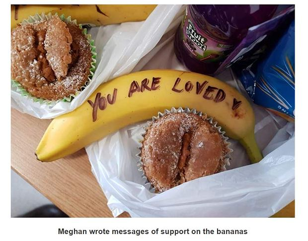 Banany od Meghan Markle dla kobiet z Fundacji One25
