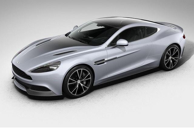 Aston Martin Vanquish w specjalnej, limitowanej wersji, przygotowanej z okazji 100-lecia firmy