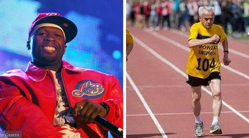 50 Cent zachwycił się najstarszym polskim biegaczem