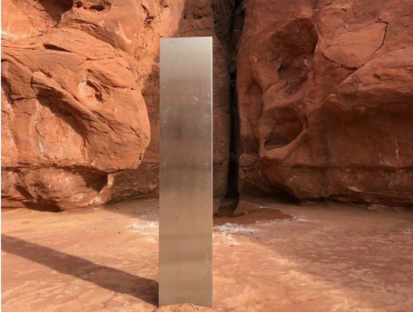 Monolit odnaleziony w stanie Utah