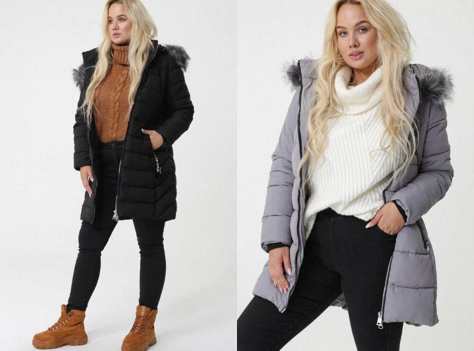 Pikowane kurtki plus size