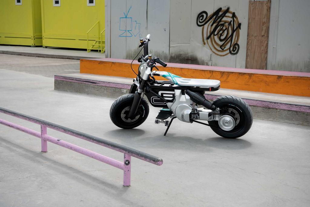 BMW Motorrad Concept CE 02, elektryczny mini-motocykl