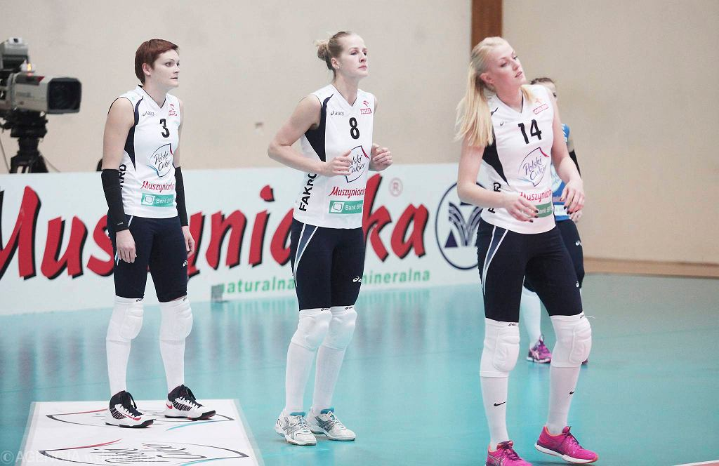 Karlina Różycka, Emilia Mucha i Natalia Kurnikowska